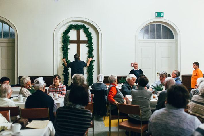 Lebenswege Halle - Eine Pforte zum Advent