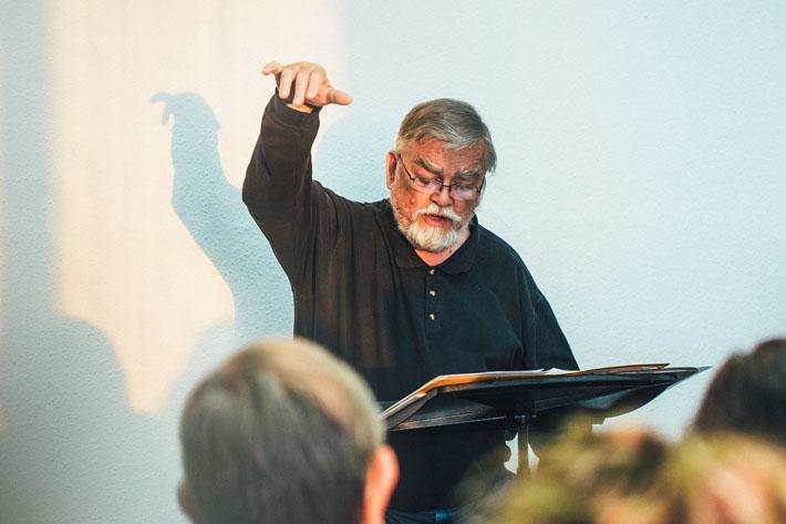 Lebenswege Halle - Chorleiter